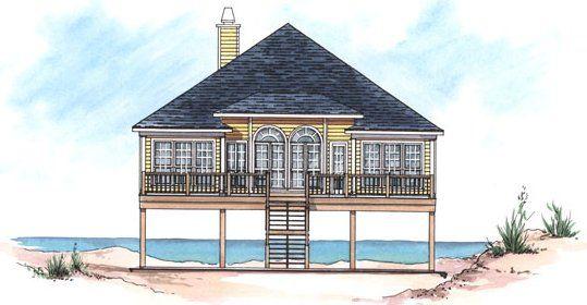 4 Bedroom 2 Bath Beach House Plan Alp 02ng Coastal House Plans House Plan Gallery Beach Cottage House Plans