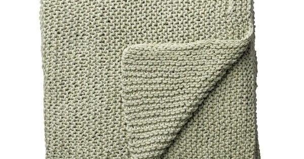 GEHAAKTE PLAID DUSTY GREEN Moola Living - chrochet : Pinterest ...