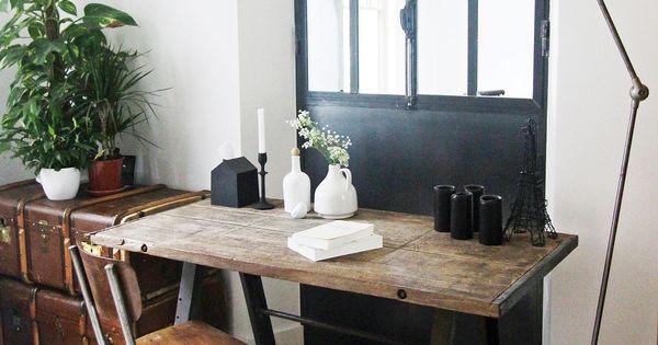 koffer als verstauung und geiler tisch lampe und stuhl living pinterest koffer stuhl und. Black Bedroom Furniture Sets. Home Design Ideas