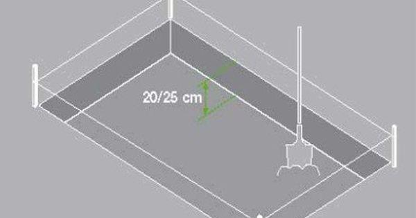 Le Décaissement 20 Cm Mini Epaisseur Dalle Beton Couler