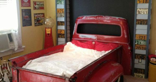 Kids Truck Bed Upcycle Me Pinterest Chevy Awesome