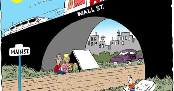 Occupy Wall Street Cartoons | Political cartoons, Wall street, Cartoon