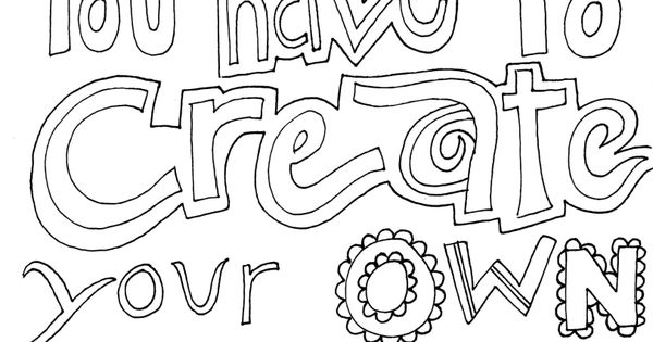 make coloring pages using photoshop | Some days you have to create your own sunshine! Coloring ...