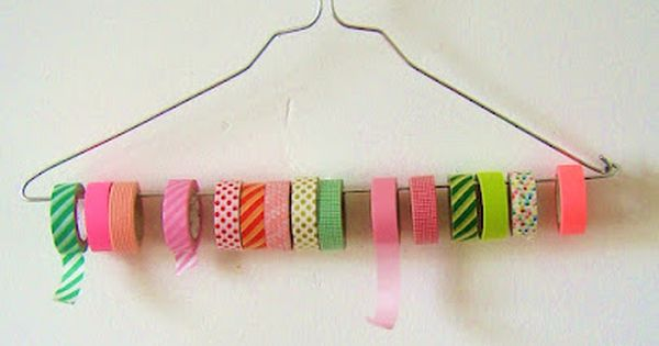 DIY-Tutorial: maskingtape holder...