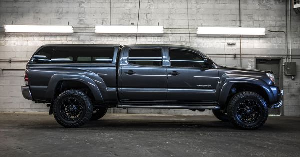 custom lifted 2010 toyota tacoma sr5 4x4 pickup truck with fuel wheels toyo tires plus westin. Black Bedroom Furniture Sets. Home Design Ideas