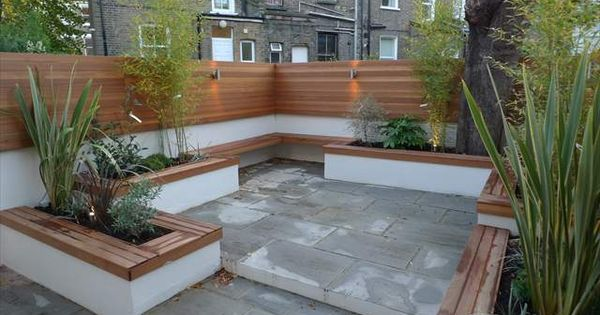 Latest gardens anewgarden decking paving design for Gardens with decking and paving