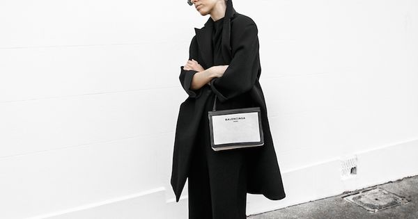 All Black Ootd Outfit Street Style Inspo Fashion Blogger Minimal Modern Legacy Instagram