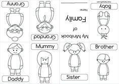 939f7b0a4c3b714fd678e37b6fcda72d English Lessons English Class Jpg 236 167 Mini Books Preschool Family Family Worksheet