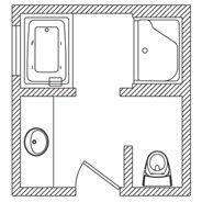 9x10 Kohler Floor Plan Options Bathroom Ideas Planning Bathroom Bathroom Floor Plans Small Bathroom Plans Bathroom Layout