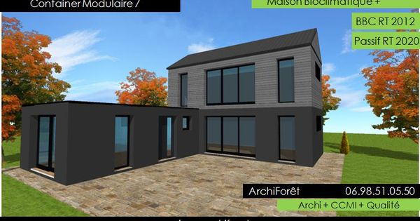 Container modulaire 7 photo maison container plan etage en for Constructeur de maison container