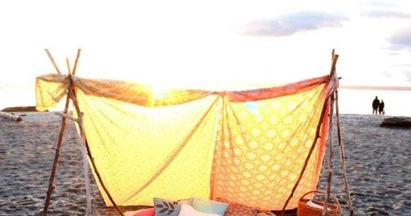 Sunset Beach Tent