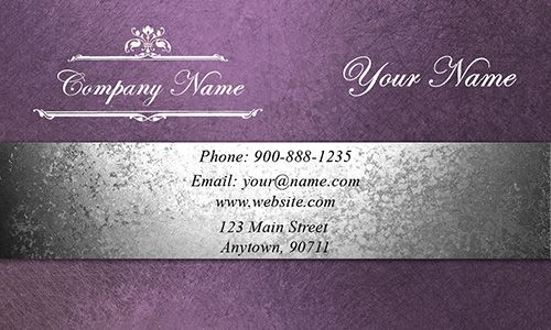 Event Planning Business Cards