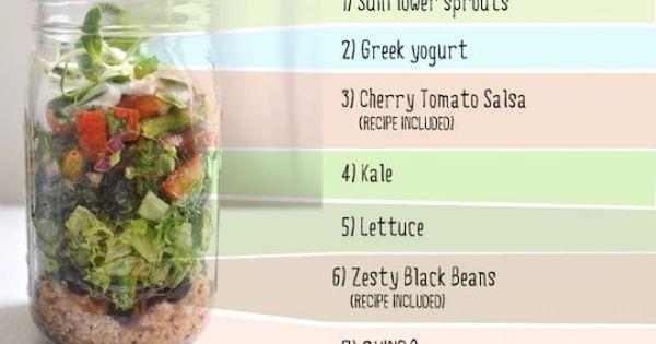 Super food Burrito Recipe (in a jar)