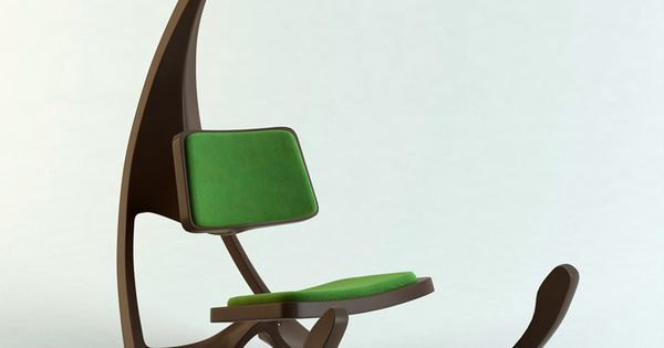 Futuristic rocking chair by Matthias Koehler, illustrator,concept ...