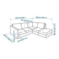 Ikea Us Furniture And Home Furnishings Ikea Ikea Vimle Sectional