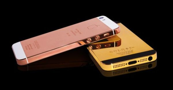 Gold & Co. Introduces 24 Karat Gold & Rose Gold iPhone 5s
