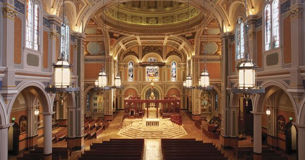 California | Blessed Sacrament Catholic Cathedral in ...