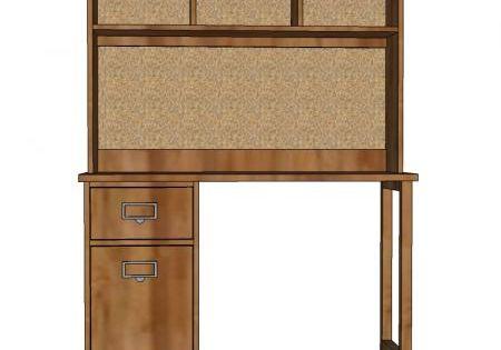 Ana White Build A Schoolhouse Desk Hutch Free And Easy