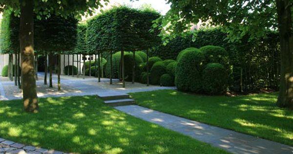 Tuindesign met waterpartijen te schilde wirtz tuinarchitectuur tuin pinterest - Te dekken moderne tuin ...