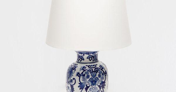 HAND PAINTED CERAMIC LAMP | Beautiful Living Rooms ...