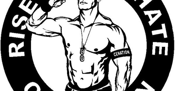 John Cena Rise Above Hate Cenation Stickers Pinterest