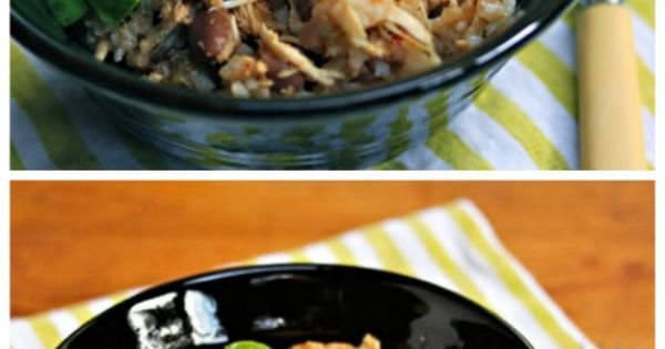 Slow Cooker Chicken and Pinto Bean Burrito Bowl from The Perfect ...