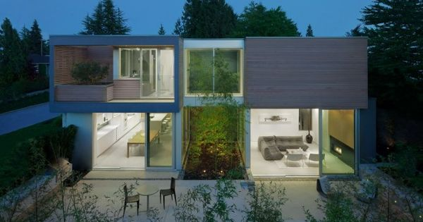 Splyce design have completed the findlay residence located for Modern home design vancouver bc