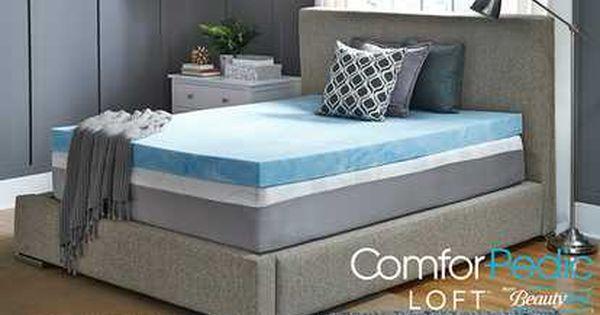 Image For Comforpedic 4 Customized Gel Memory Foam Mattress