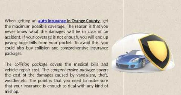 Auto Insurance California Youtube Car Insurance Insurance