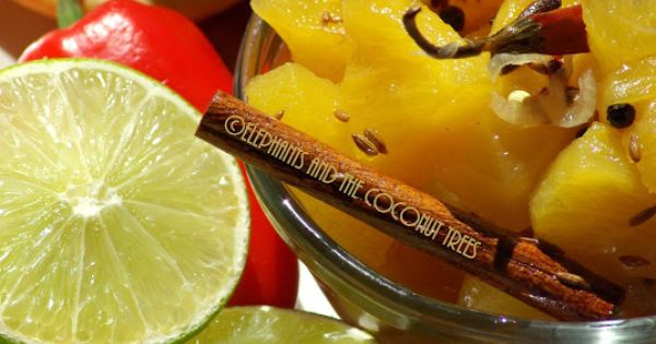... Indian Spices / Pineapple sweet chutney | Chutney, Indian and