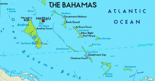 Carribiean Islands Map