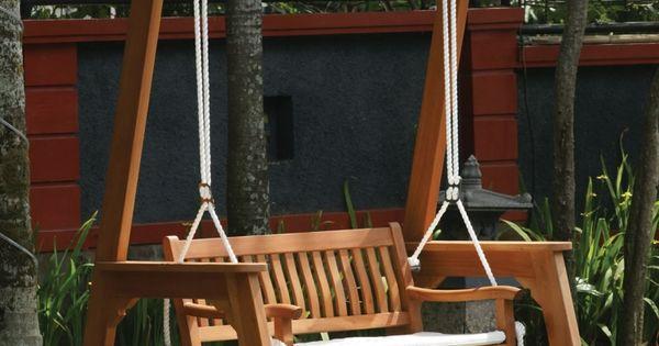 Balancelle de jardin plusieurs exemples inspirants pour for Jardin pour vous
