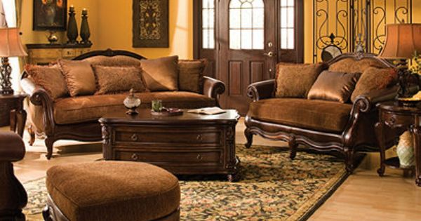 Natalia Traditional Chenille Living Room Collection Design Tips Ideas Raymour And Flaniga Living Room Collections Stylish Living Room Family Living Rooms