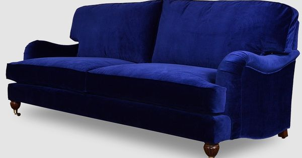 Blythe Pillow Back English Roll Arm Sofa In Cannes Lapis