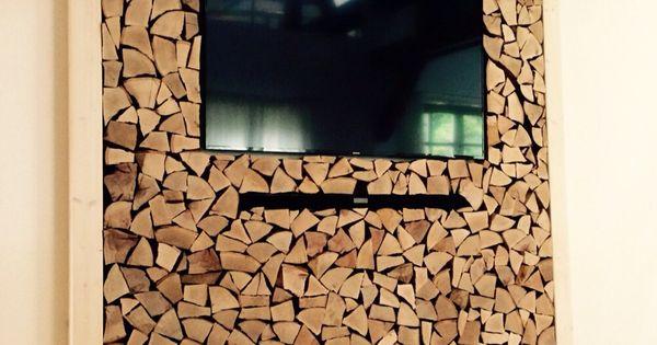 TV Wand, Selfmade, Diy, Holz, Wohnzimmer, Dahoam | Diverses | Pinterest |  Decoración Hogar, Gaby Y Tv
