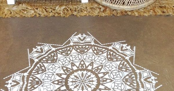 Shop These Mandala Stencils And Other Bohemian Home Decor In Store At White Bohemian Palm Beach