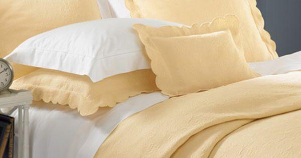 Alice Matelasse Coverlet Sferra Bedding Bed Linens Luxury White Linen Bedding