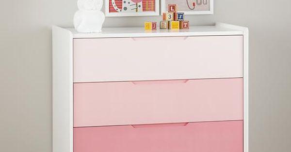 Chromatic 3 Drawer Dresser Kids Furniture Girl Room Furniture