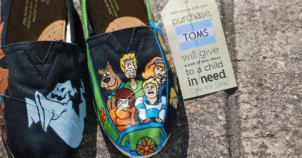 Scooby Doo Toms!