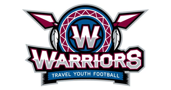 Warriors Youth Football Logo | Sports Graphics | Pinterest ...