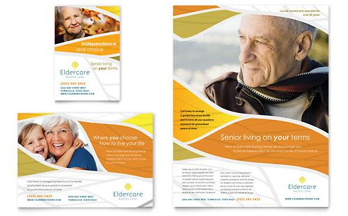 Assisted Living Flyer Ad Template