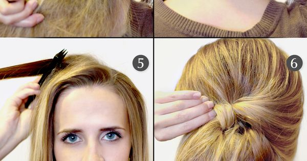How To: Retro Bouffant. From Hair and Makeup by Steph.