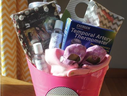 Baby Shower idea: A New Mom Survival Kit
