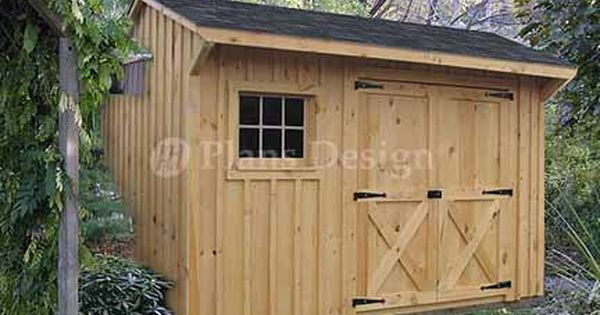 Saltbox Shed Plans Backyard Sheds Building A Shed Shed Design