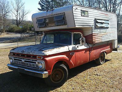 1966 Ford F250 Camper Special With Or Without Dreamer Camper