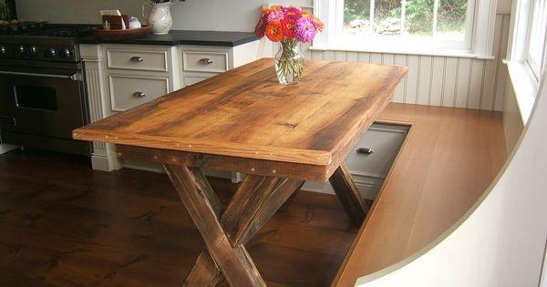 Counter Height Trestle Table | BobReutersTL.com | Homework | Pinterest |  Trestle Tables