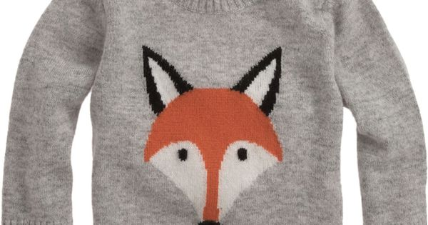 Foxy Sweater by Christopher Fischer