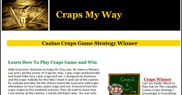How to Play Craps for Beginners - YouTube