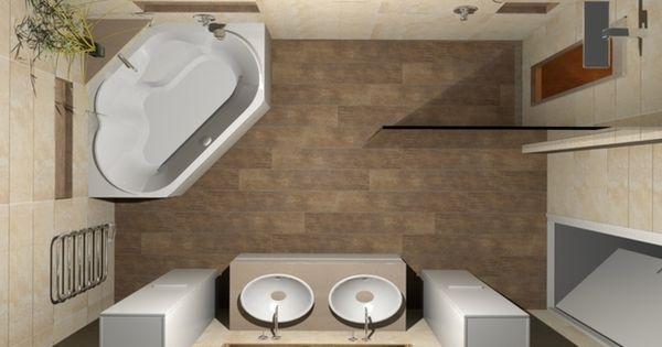 De eerste kamer geniet op een stijlvolle wijze van zonlicht in uw badkamer in deze badkamer - Badkamer in een kamer ...