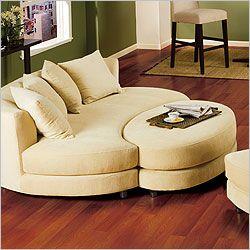 Roundabout Oval Sofa Round Sofa